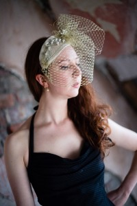 Twisted Thimble Bridal' Pearldrop ' headpiece
