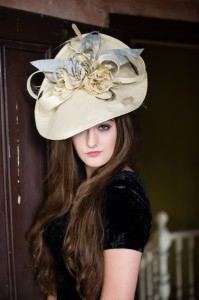 Twisted Thimble 'Truly Scrumptious' Silk headpiece