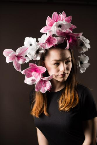 Bloomin Carousel Lilly Headpiece