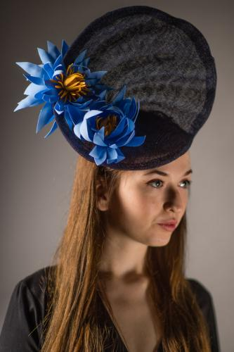 Bloomin Carousel Lotus Headpiece