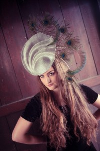 Twisted Thimble 'Phoenix' headpiece